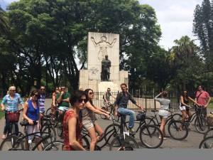 Fietsen door Buenos Aires