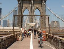 New York bezienswaardigheden Brooklyn Bridge