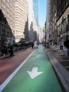 Fietsen in New York op de fietspaden