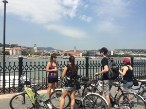 Fietsen in Boedapest