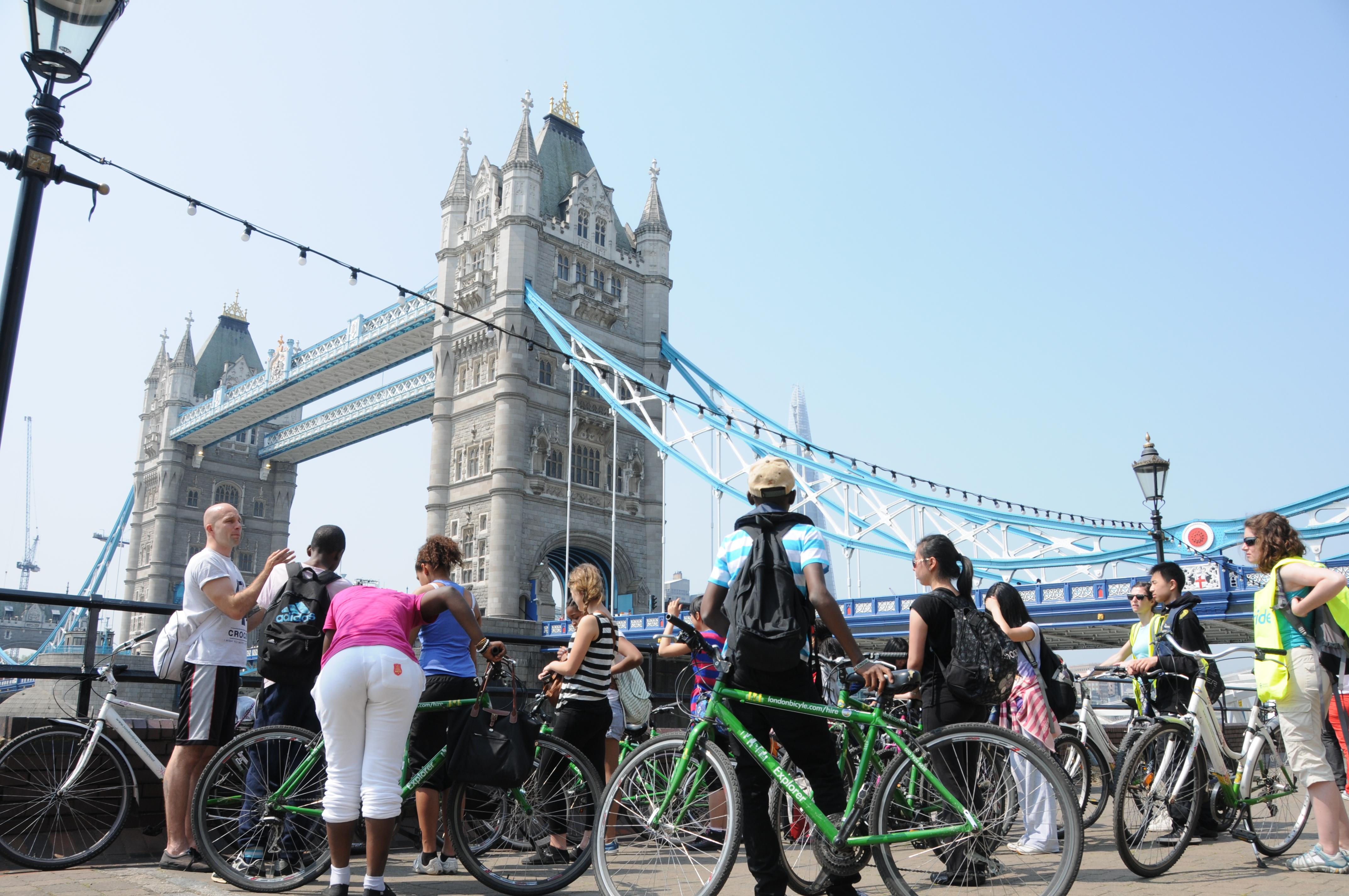 Super Links fietsen in Londen - Fiets met een Nederlandse gids HG-48