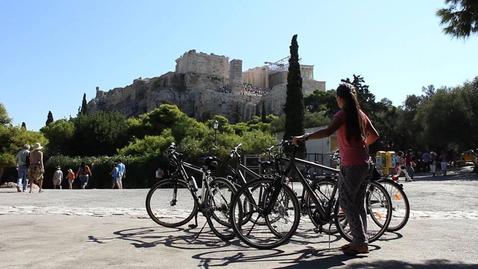 Fietsen in Athene tijdens je stedentrip