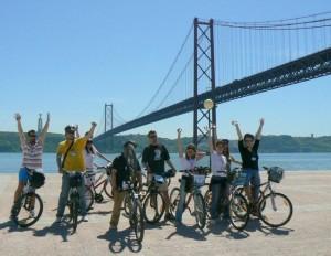 Doorkruis Lissabon op de fiets