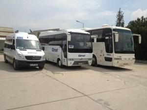 Vliegveld Istanbul: shuttle bussen