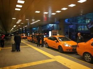 Vliegveld Istanbul: taxi naar centrum