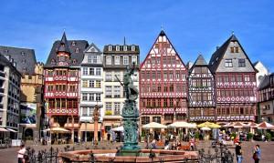 Er even tussenuit in Frankfurt