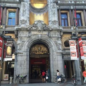 Fietsen in Antwerpen: Stadsfeestzaal