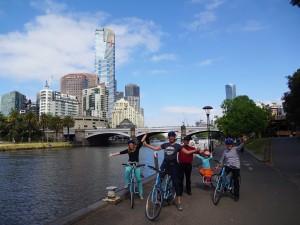 Fietsen in Melbourne