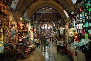 Grote bazaar in Istanbul