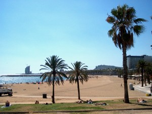 Strand Barcelona - Baja Bikes