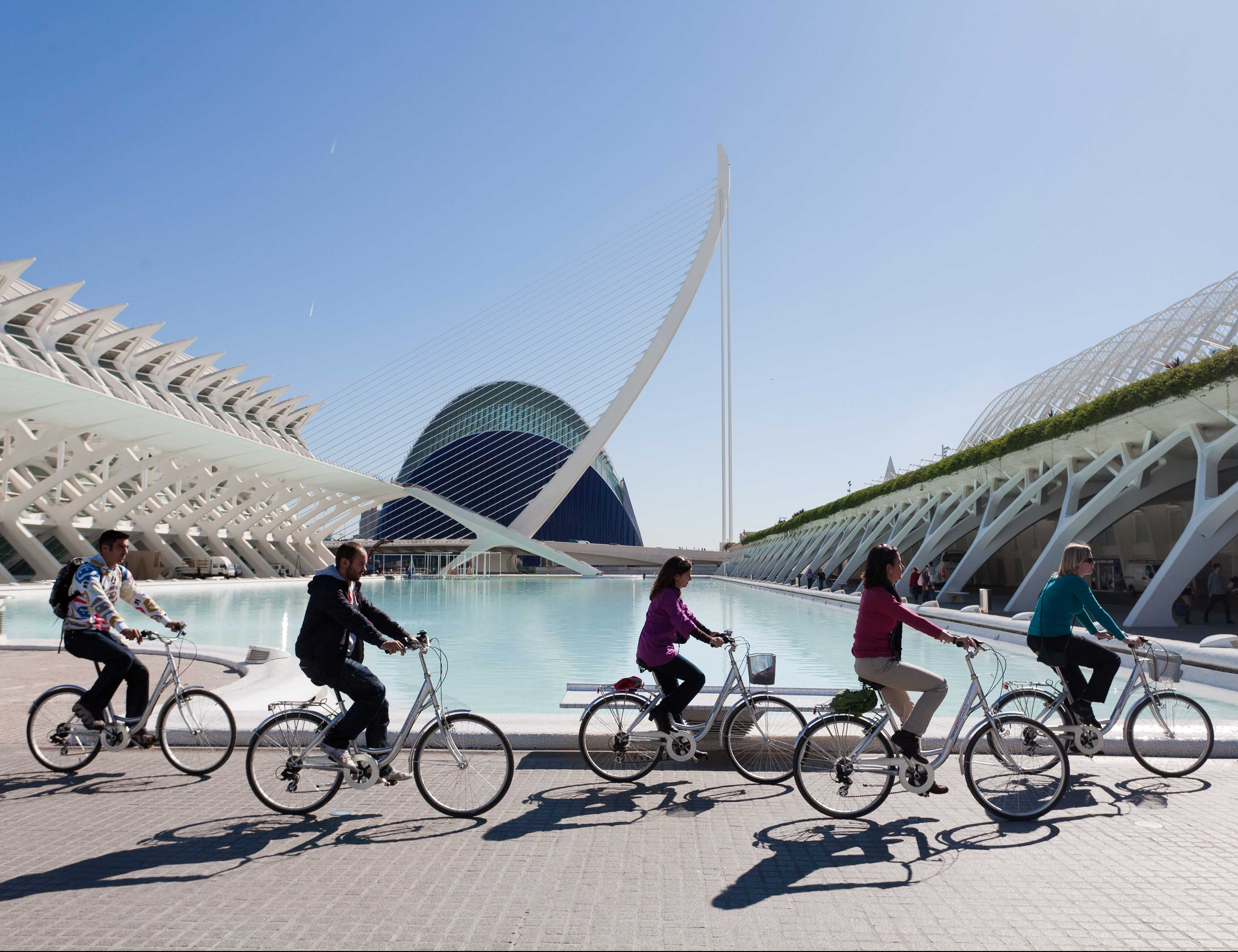 fietstour tijdens je citytrip in Valencia