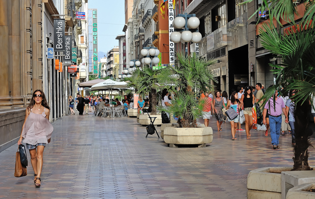 9cf272c5a18a6a Winkelen Valencia - winkelstraten- en gebieden | Baja Bikes