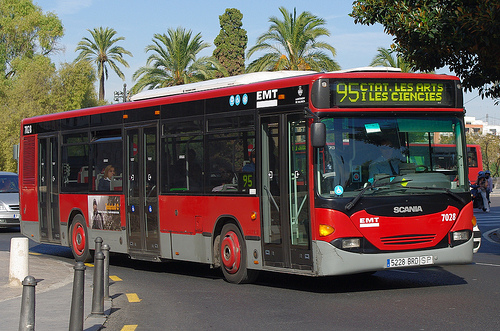 Openbaar vervoer Valencia de bus