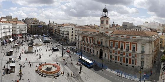 Centrum madrid info en praktische tips baja bikes for Puerta del sol madrid