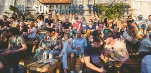 Uitgaan Rotterdam Biergarten