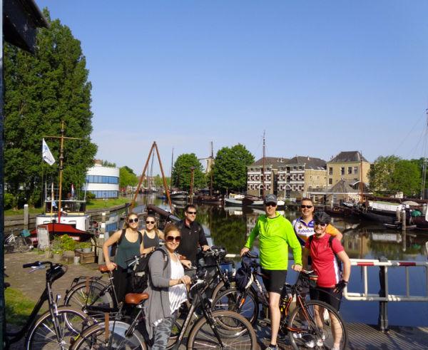 wat te doen in gouda fietsen