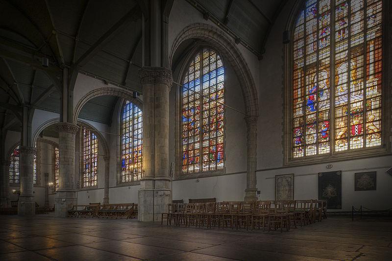 wat te doen in Gouda bezoek de bezienswaardigheden Sint-Janskerk