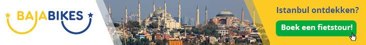 Fietsen in Istanbul