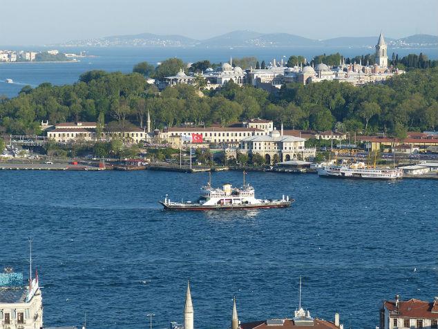 Boot op de Bosporus