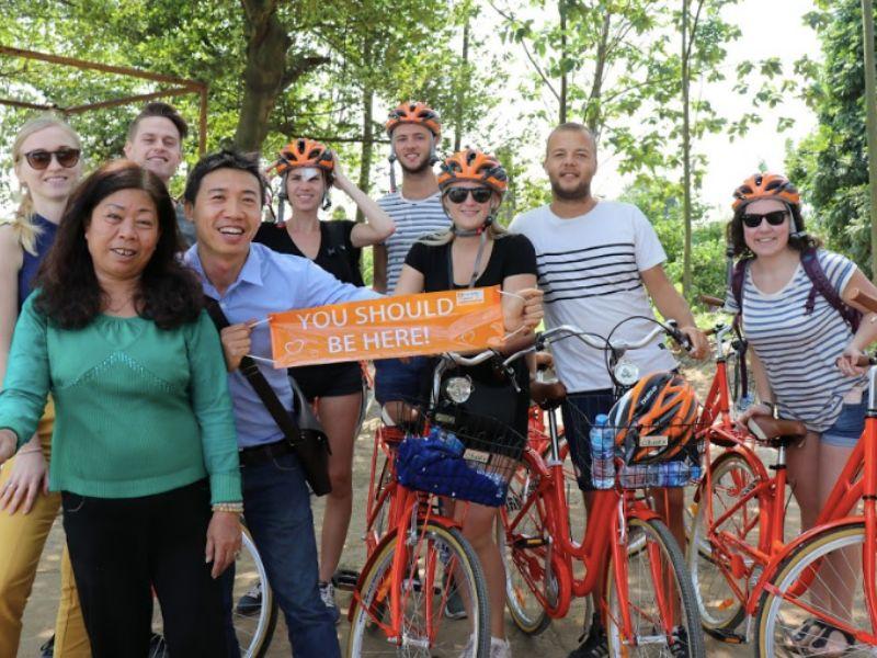wat te doen in Hanoi fietstour