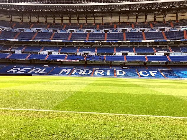 Real Madrid Taart