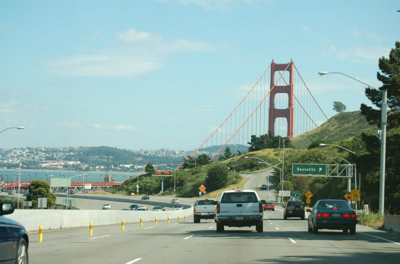 Sausalito Golden Gate Bridge
