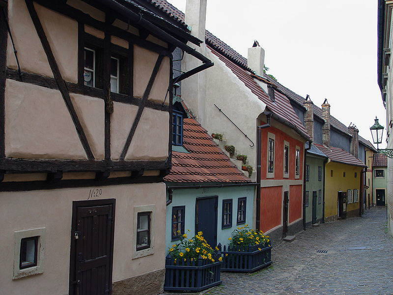 Gouden Straatje in Praag