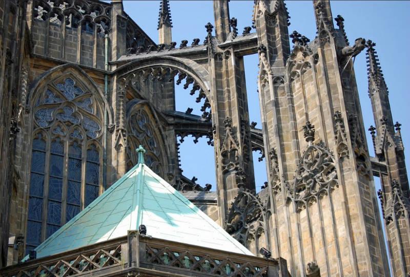Details van Sint-Vituskathedraal