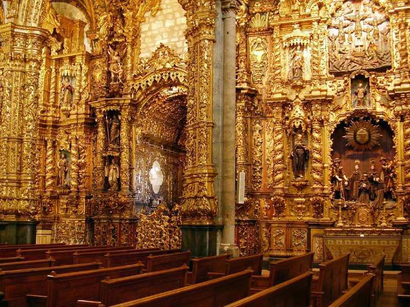 Goud in de Igreja de São Francisco