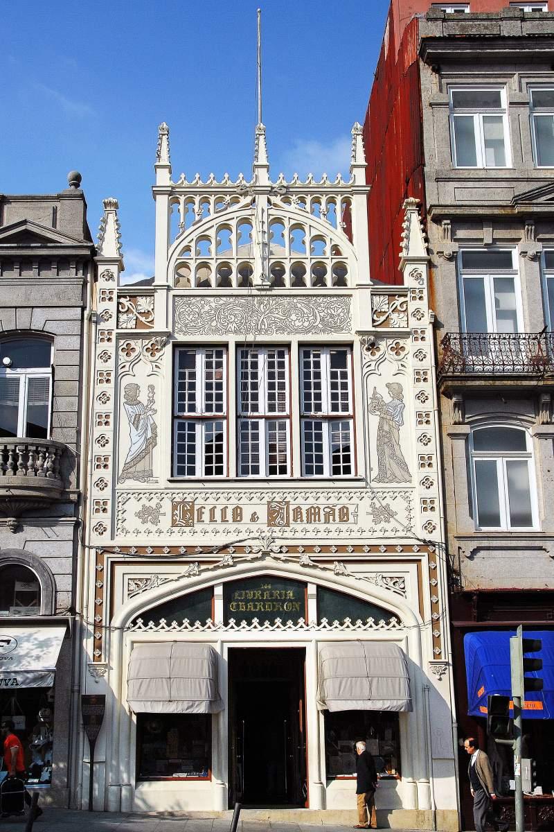 Livraria Lello e Irmão in Porto