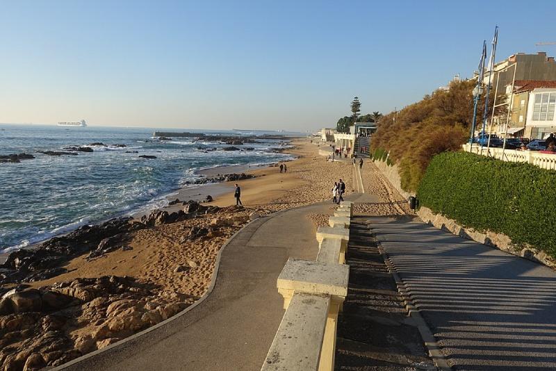 Stranden van Porto