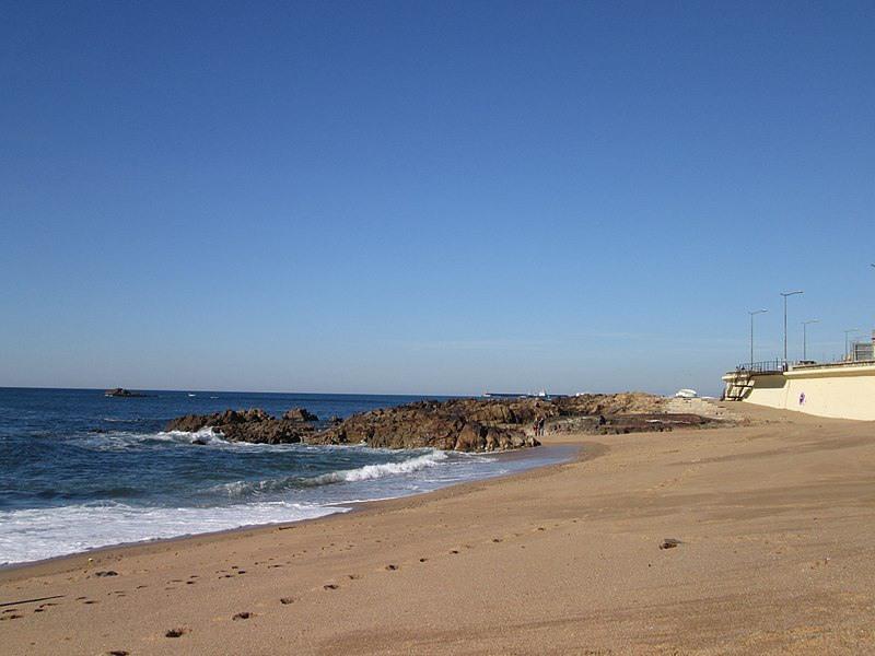 Rustige stranden van Porto