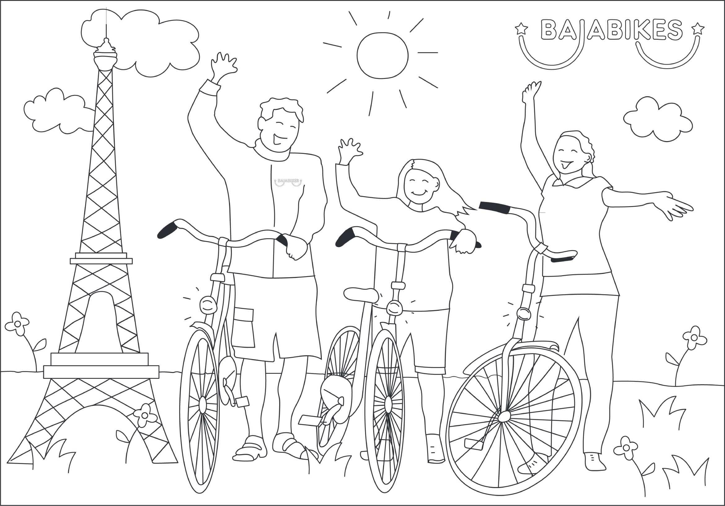 parijs met kinderen de 5 beste tips baja bikes