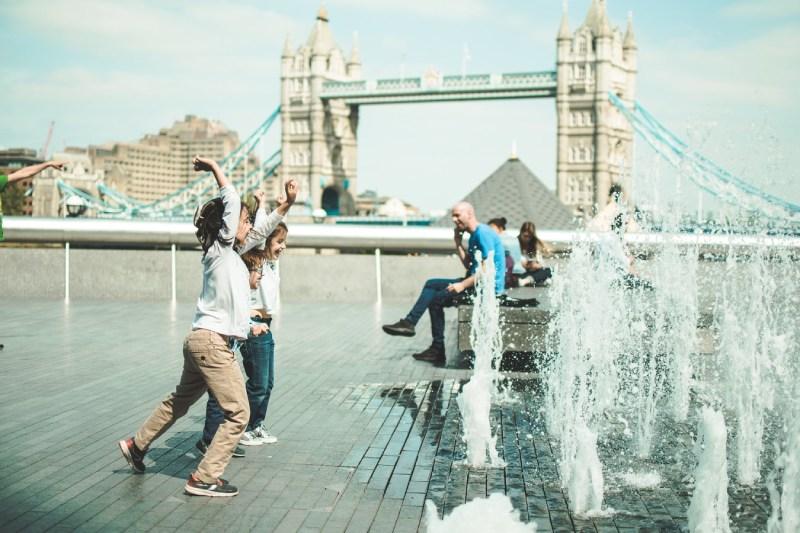 Met de kinderen naar Londen