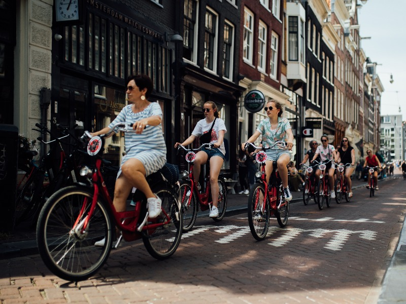 Amsterdam Highlights Bike Tour