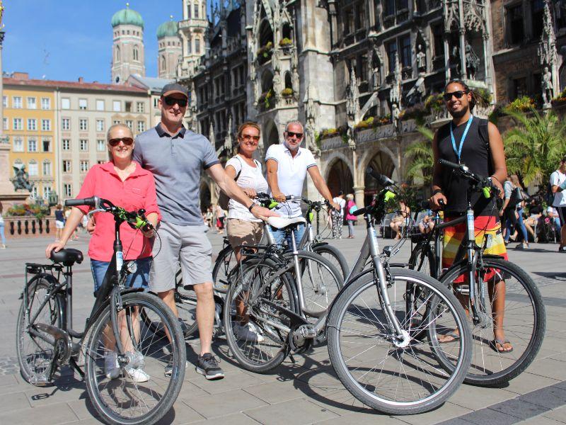 München Highlights Fietstour
