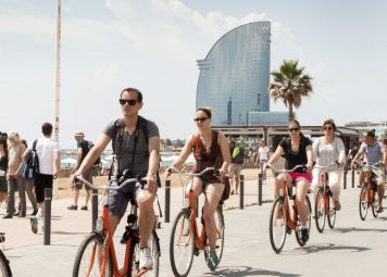 Barcelona Highlights Bike Tour