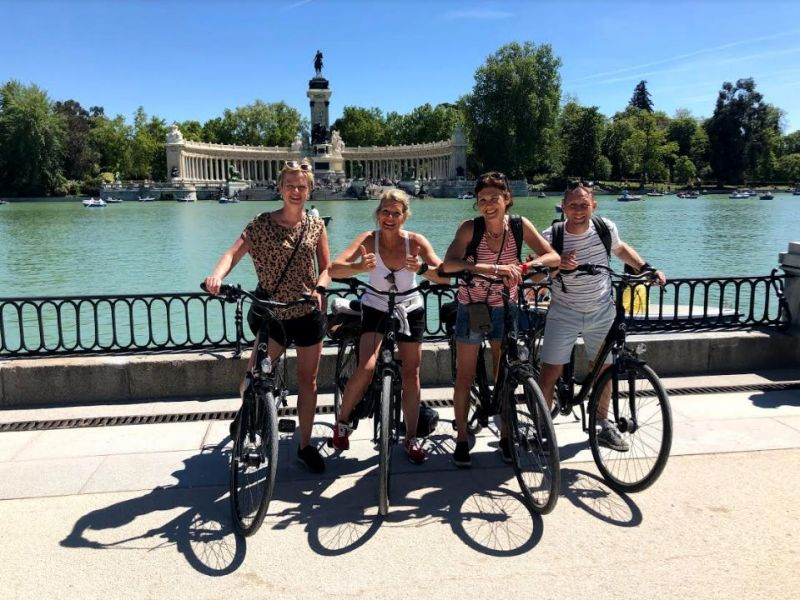 Madrid Fietstour: de Highlights