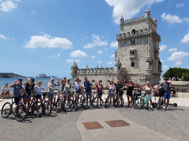 Fahrradtour Lissabon Highlights