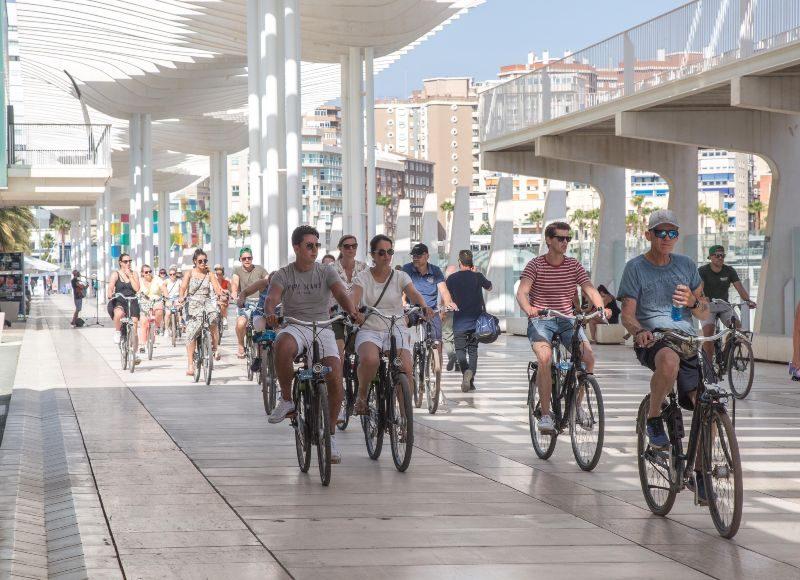Malaga Highlights Bike Tour