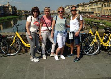 Florence Fietstour Nederlands