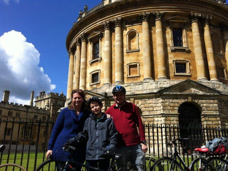 Oxford Fahrradtour + Fahrradverleih Kombi