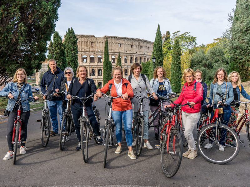 Rom Highlights Fahrradtour