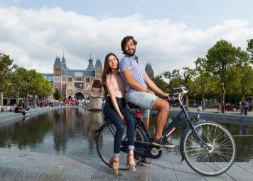 Fietsen huren Amsterdam