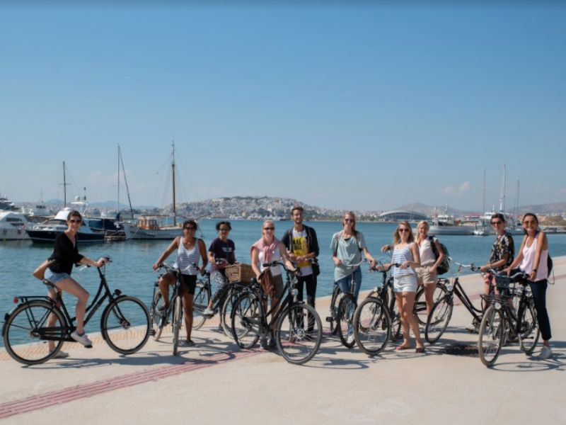 Athens Highlights Bike Tour