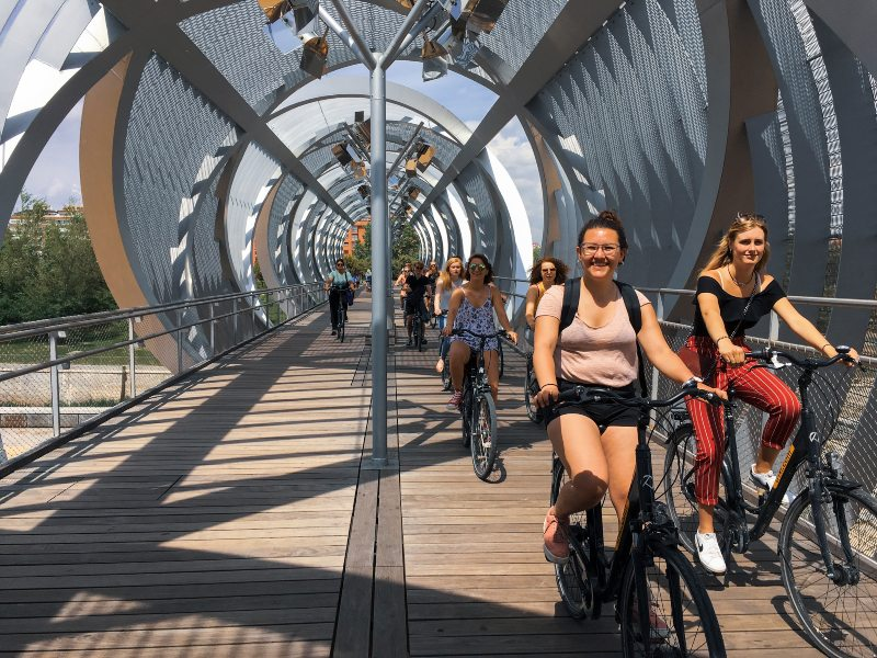 Madrid Highlights Fahrradtour