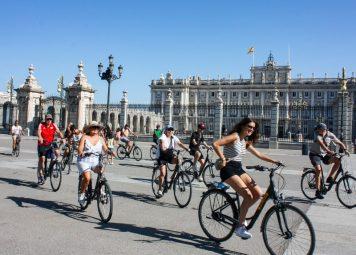 Fietsen huren in Madrid