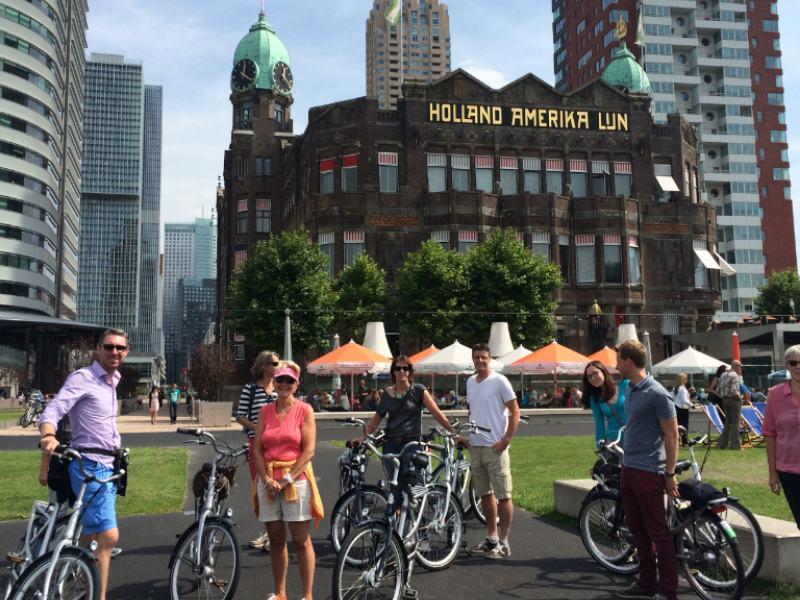 Fahrradtour Rotterdam Highlights