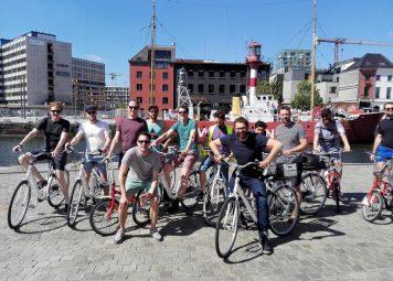 Studentenfietstour Antwerpen