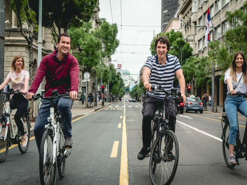 Belgrade E-bike Tour